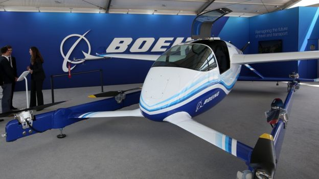 Autonomous Passenger Air Vehicle корпорации Boeing