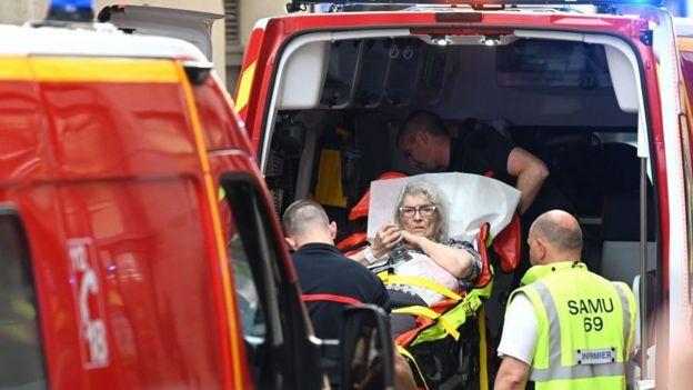 Fransa'nın Lyon kentinde patlama: