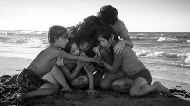 "Fotograma de la película ""Roma"""