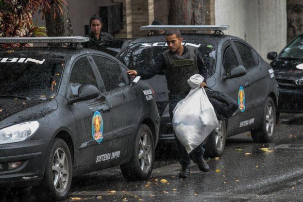 Funcionarios del Sebin, los servicios de inteligencia, allanaron la casa de Ortega esta semana.