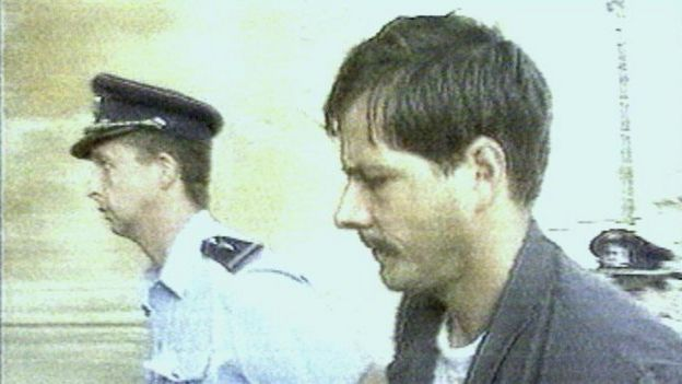 Marc Dutroux arrested in 1996