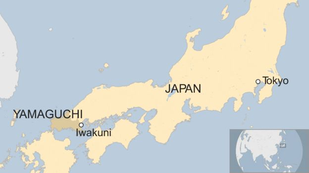Marine Base In Japan Map.Rescue Mission In Japan After Two Us Marine Aircraft Collide Bbc News