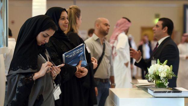 استهجان على تويتر لعمل نساء سعوديات في