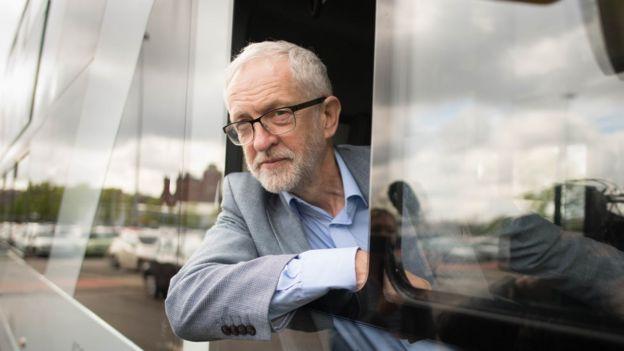 جيريمي كوربين زعيم حزب العمال البريطاني