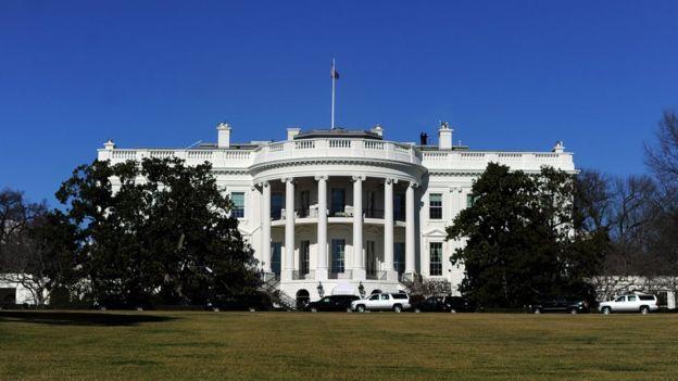 Exterior de la Casa Blanca
