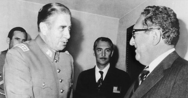 Pinochet y Kissinger