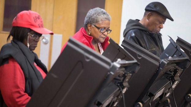 Los afroestadounidenses así como otras minorías raciales registran mayores niveles de abstención.
