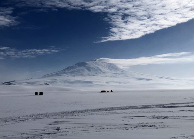 Mount Erebus - the southernmost active volcano on Earth