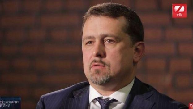 Сергій Семочко у студії телекомпанії ZIK