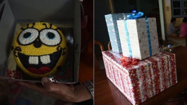 เค้กที่ยังรอเจ้าของวันเกิด