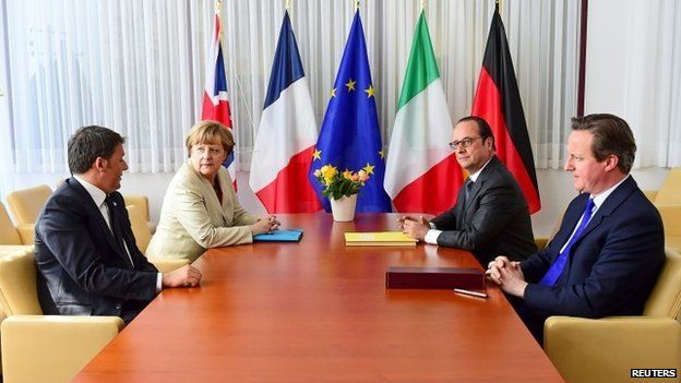 European Union extraordinary summit seeking for a solution to the migrants crisis