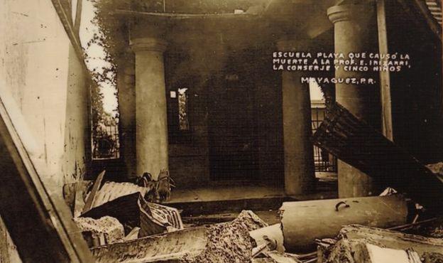 Escuela donde murió el sobrino de la abuela de Ada Monzón.