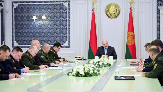Александр Лукашенко, совещание 12 сентября 2020 г