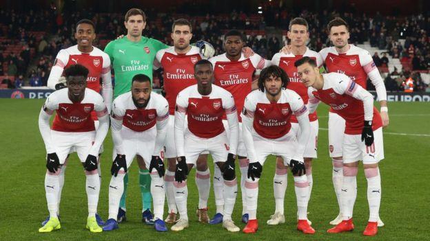Arsenal ta yi wasa 22 a jere ba a doke ta ba - BBC News Hausa