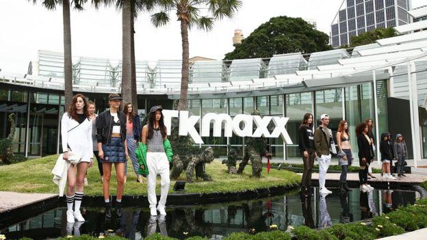 TK Maxx Australia launch