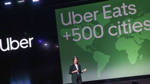 Emilie Boman, chefe de políticas públicas da Uber Eats