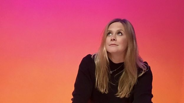 Suz Temko en una foto promocional de la BBC