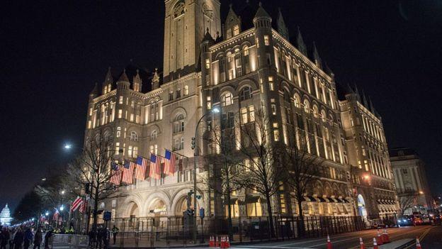 Hotel Trump en Washington DC