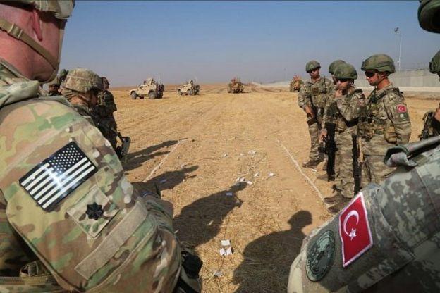 نیروهای نظامی ترکیه و آمریکا