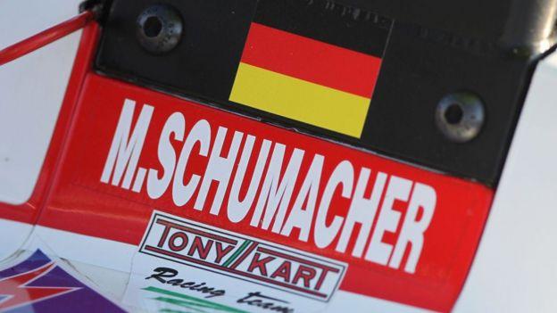 Identificación del monoplaza de Mick Schumacher.