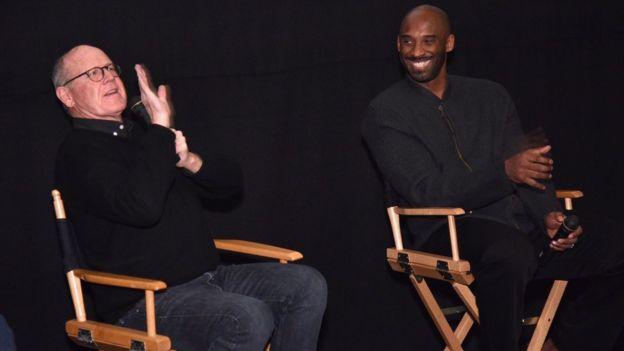 Glen keane y Kobe Bryant