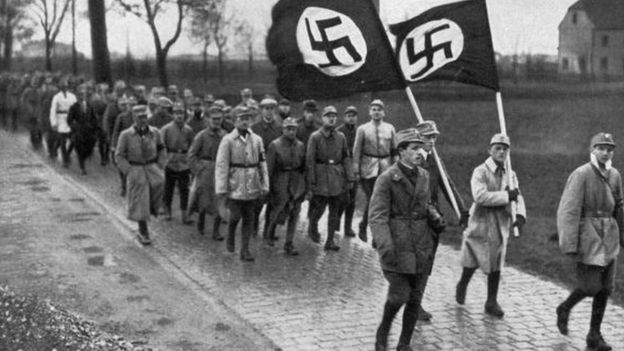 Marcha de soldados nazi