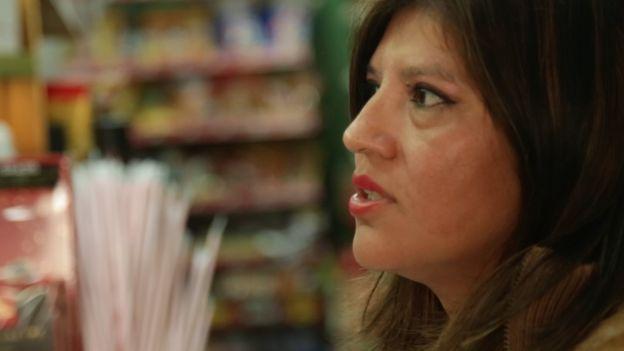 María Collaguazo es ecuatoriana pero vive desde hace 20 años en Ciutat Meridiana.
