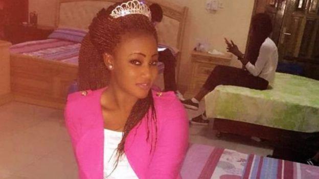 """L'ancienne reine de beauté Fatou """"Toufah"""" Jallow a déclaré à la BBC qu'elle avait été violée par M. Jammeh"""
