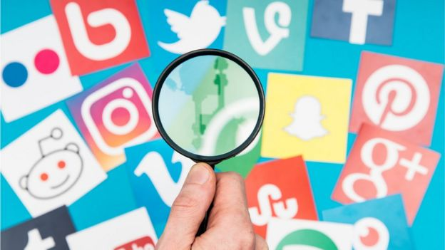 Logos de redes sociais