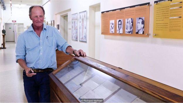 Hennie Joubert. Museu do Coração da Cidade do Cabo, na África do Sul