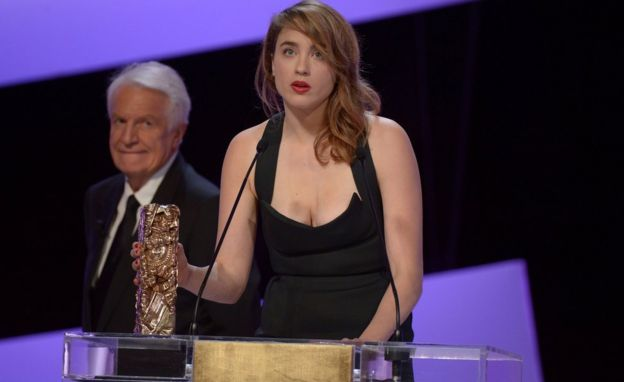 Adèle Haenel won a César at the 2014 national awards for best supporting actress