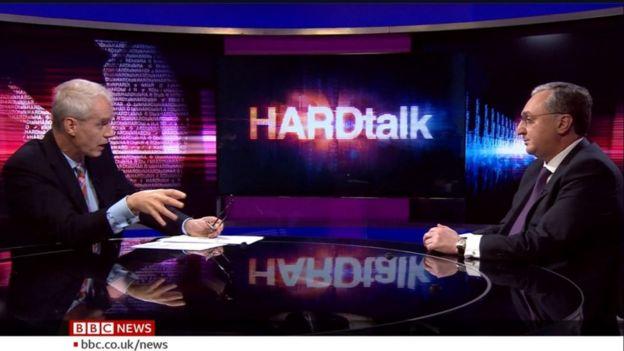 BBC News Hard Talk programme