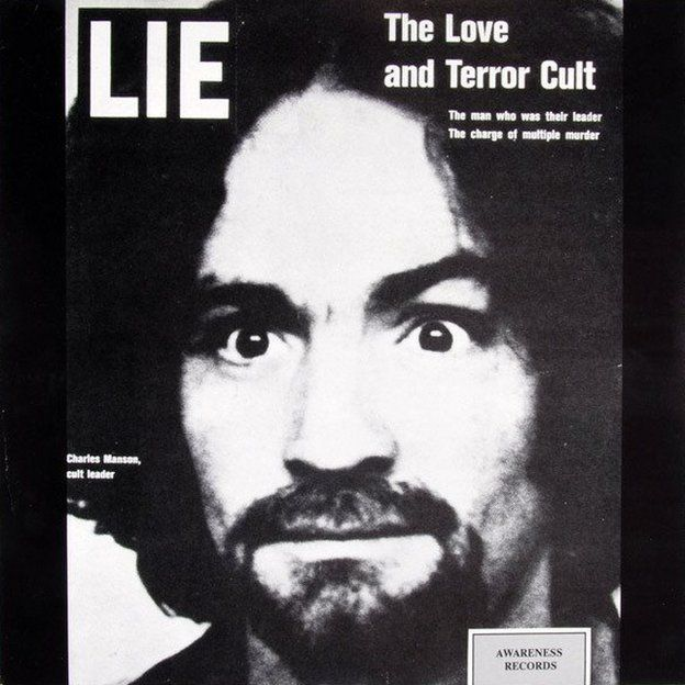 Cover of Charles Manson's record