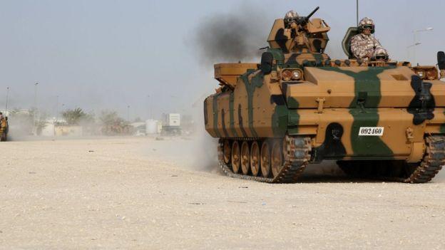 รถถังของกองทัพตุรกี