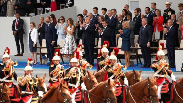 法國2017年國慶日閲兵式