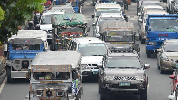 Traffic in Manila (23 may 2017)