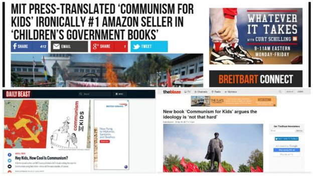 Reportes de la prensa de EE.UU. a Comunismo para niños