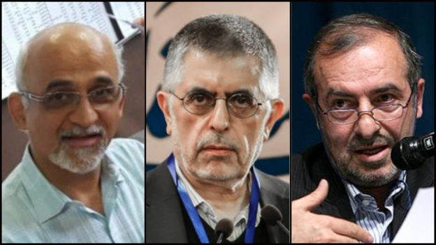 مرتضی الویری (راست) و محسن میردامادی (چپ)، اظهارات غلامحسین کرباسچی را تکذیب کردند
