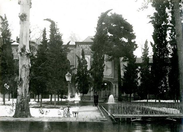 کاخ گلستان، حدود ۱۹۰۰، عکس از آنتوان سوروگین