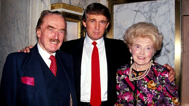Trump's parents and siblings: What do we know of them? - BBC