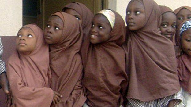 Schoolgirls in Kano, Nigeria