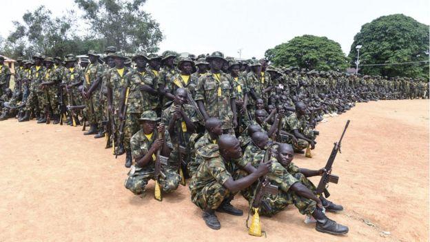 Nigeria's military has struggled to defeat the Boko Haram threat
