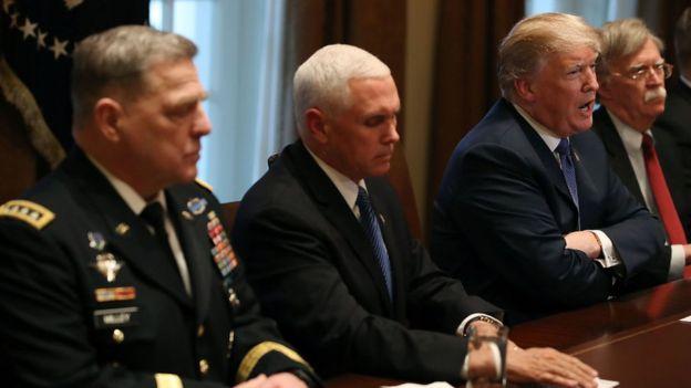 Трамп на встрече
