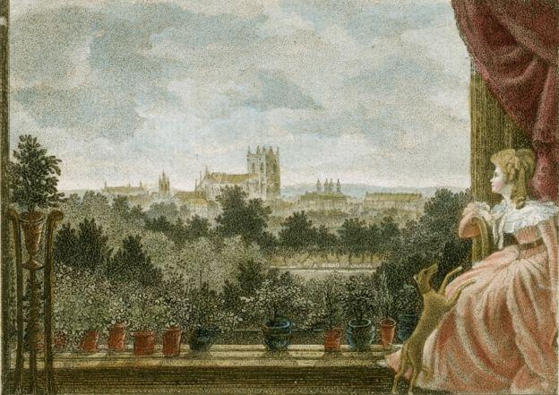Pintura de María Cosway por Richard Cosway. 1789.