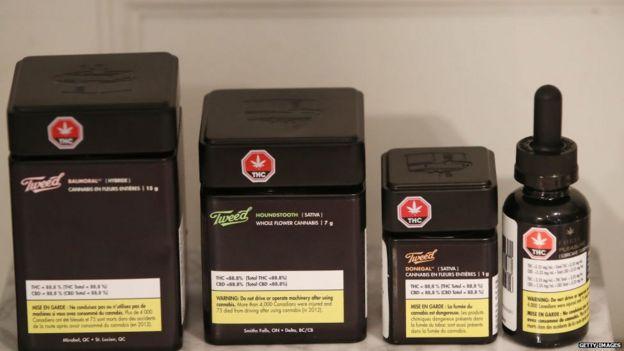 Tweed é uma das marcas da Canopy Growth, um dos maiores produtores legais de cannabis do país