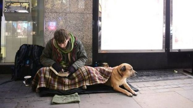 london homeless