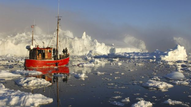Гренландські води багаті на рибу і перспективні для судноплавства на тлі змін клімату