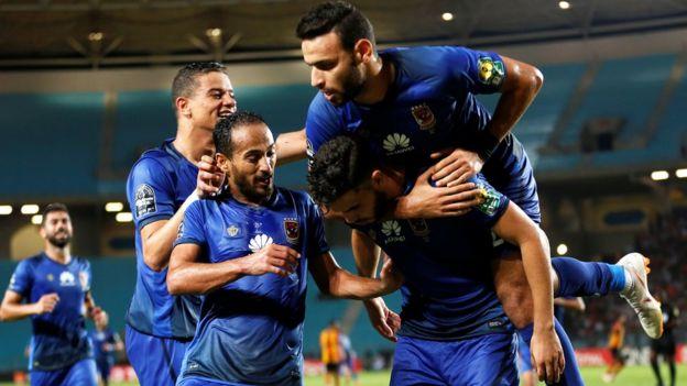 الأهلي المصري يفوز على الترجي ويتأهل لدور الثمانية بدوري الأبطال