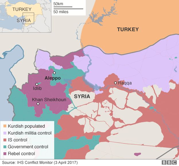 syria map turkey is also fighting is but in this case the enemy of their enemy is also their enemy
