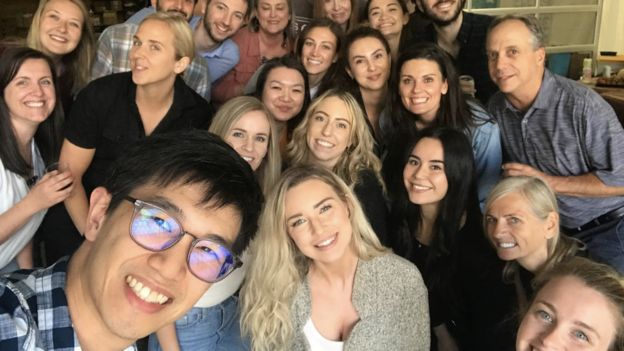 Tara Bosch y sus empleados